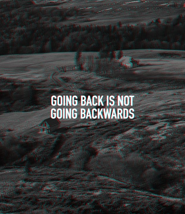 Going Back is not Going Backwards